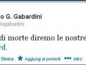 Carlo Gabardini ha twittato.