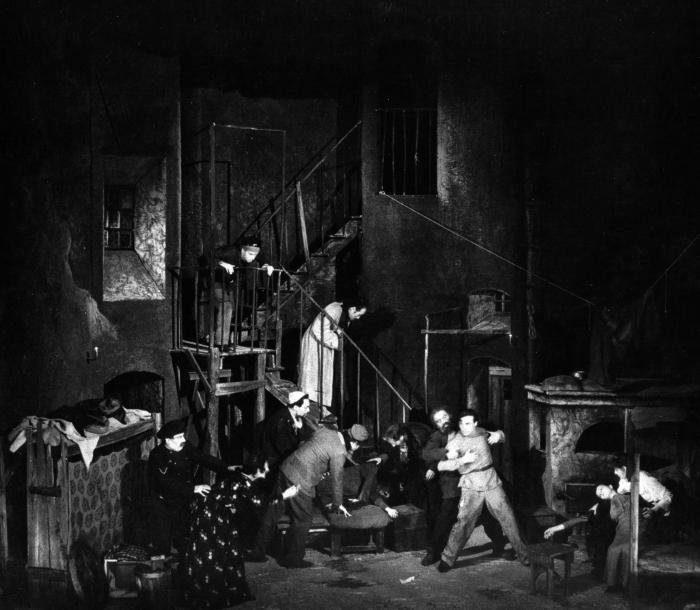 L'albergo dei poveri, regia di Giorgio Strehler, 1947