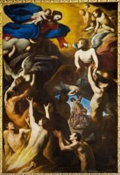 Massimo Stanzione, Madonna delle Anime Purganti (1638-1642)