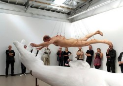 Stelarc, Suspended animation