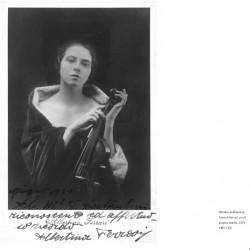 Alberta Lovrich (in arte Albertina Ferrari) nel 1921, anno in cui dà alla luce Giorgio Strehler