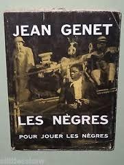 Les Nègres di Jean Genet copertina