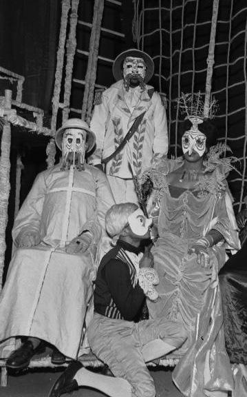 Les Nègres di Jean Genet regia Roger Blin 1959