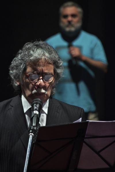 Nicanor Parra (foto Ernesto Donegana)