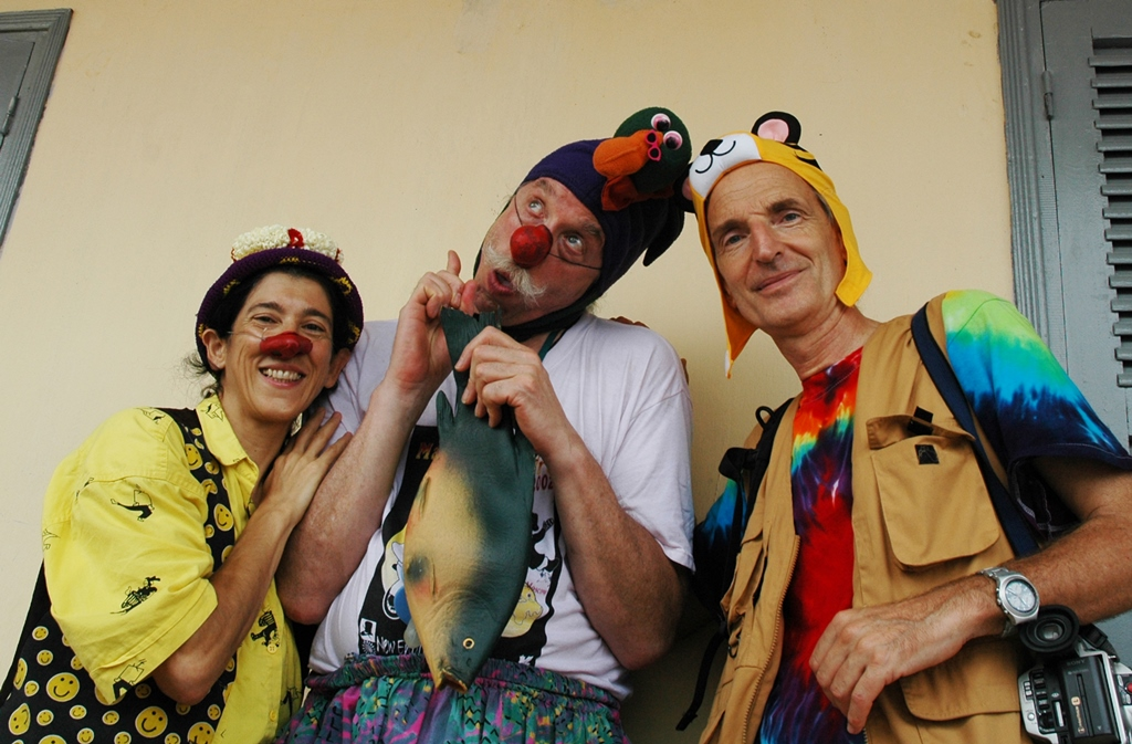 Ginevra Sanguigno, Patch Adams, Italo Bertolasi