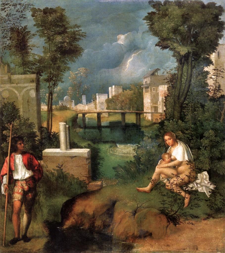Giorgione, Tempesta