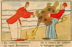 Il signor Bonaventura, creato da Sergio Tofano nel 1917