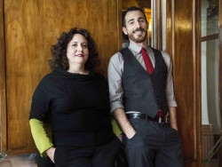 Clara Gebbia e Enrico Roccaforte (foto di A. Primavera)