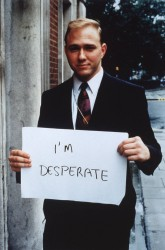 'I'm desperate' 1992-3 Gillian Wearing OBE born 1963 Purchased 2000 http://www.tate.org.uk/art/work/P78348