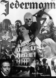 Jedermann-Montage, 1930. Foto Archiv der Salzburger Festspiele _ Ellinger