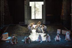 Maschere del teatro, migliore spettacolo: Orestea diretta da Luca De Fusco,  produzione del Teatro Stabile di Napoli e Teatro Stabile di Catania (foto Fabio Donato)