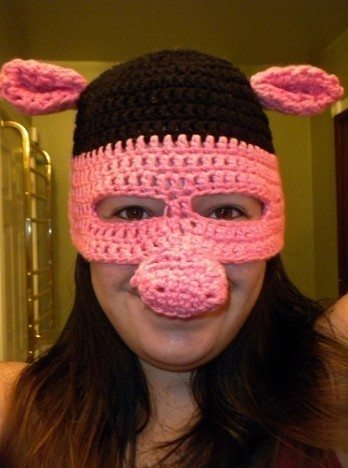 mascherina maiale
