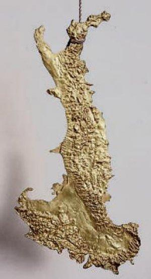 Luciano Fabro, L'Italia d'oro (1971)