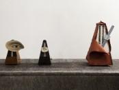 Salvador Dalí, Metronome (1944), Man Ray, Indestructible Object (1923 e 1965), Claes Oldenburg e Coosje van Bruggen, Silent Metronome, 16 inch, Version Three (2005) (Photo Attilio Maranzano)