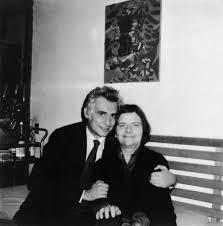 Cesare Garboli con Elsa Morante