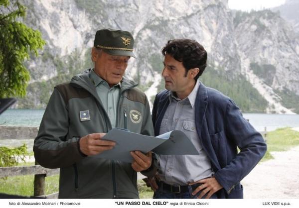 Un passo dal cielo, Terence Hill e Enrico Ianniello
