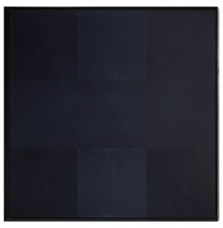 Ad Rheinhardt, Untitled. 1960. Oil on canvas. opening: 156.4 x 156.6 cm. (61 9/16 x 61 5/8 in.). Museum purchase, Fowler McCormick, Class of 1921, Fund. y1987-47. Photo: Bruce M. White