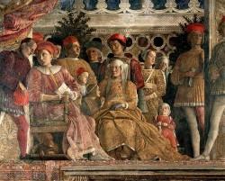Mantova, Camera picta, La corte