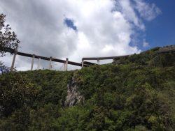 Il viadotto Italia sulla Salerno Reggio Calabria, il più alto d'Italia fino a qualche anno fa