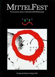 """Il catalogo del 1994, """"Guerra e pace"""", la copertina"""